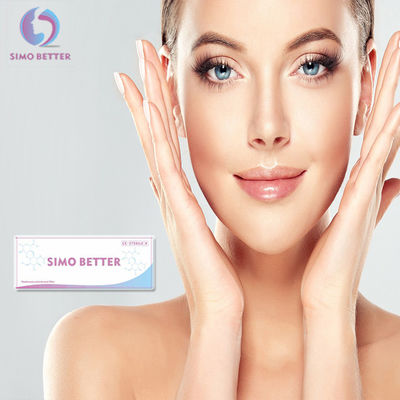 Sodium Hyaluronate Injectable Dermal Fillers Gel Penambah Bibir Non Bedah